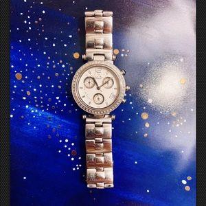 Lucien Piccard Accessories - Lucien Piccard SWISS Ladies Watch w/ Diamond Bezel